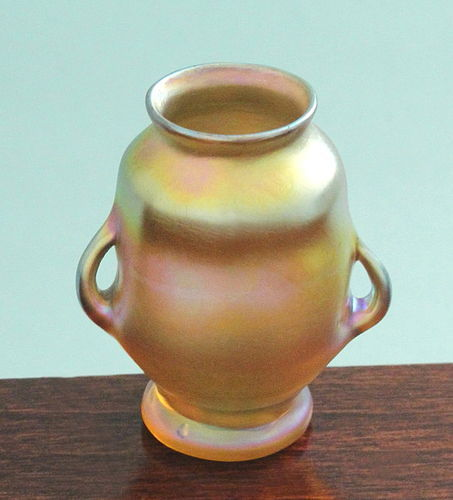 L.C. Tiffany Favrile Glass Vase