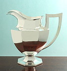 American Silver Plate Water Pitcher