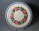 Vernon Kilns Dinner Plate Hand Painted Pattern 837