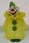 Vintage Metlox Poppytrail Circus Clown Cookie Jar