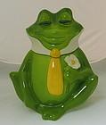 Frog the Prince Metlox Cookie Jar, California Pottery