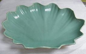 Catalina California Pottery Clam Shell Serving Dish