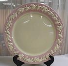 Rare Metlox Royal Oak Pink Platter Plate Charger
