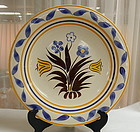 Gale Turnbull Vernonware Chop Plate Platter T-671