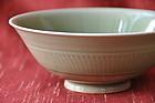 One Asian Celadon Bowl