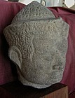 Thai  Sandstone Head of King