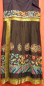 Chinese Embroidered Chaofu Skirt