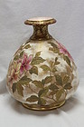 Doulton Burslem chine-gilt vase