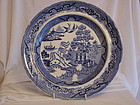 Swansea Willow pattern plate