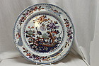 Chinoiserie plate by James and Ralph Clews