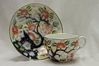 New Hall cup and saucer pattern 1153