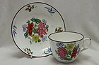New Hall cup and saucer pattern 1064