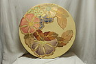 Gray's Pottery hand painted wall plaque pattern A3830