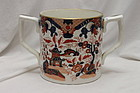 F & R Pratt Imari patterned two handled mug pattern 340
