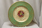 Royal Worcester plate painted by Walter Austin