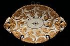 Ex Museum Meissen Porcelain Bowl/Dish.
