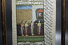 Indo/Persian Miniature Painting, Mogul Dynasty