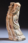 Chinese Ivory Figural Carvings, Mid 20th c.