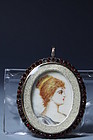 Miniature Portrait Paintings on Ivory,