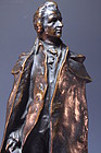 Bronze Figure of Mozart.