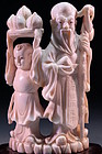Wonderful Chinese Carved Ivory Figure,
