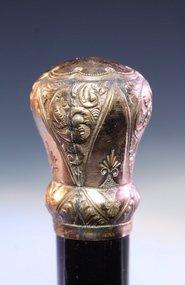 Antique Gold filled Handle Dress Cane 19th C.