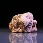 Fine Japanese Carved Ivory Netsuke Figure,