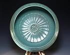 ChineseTea Glazed Porcelain Brush Washer,