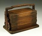 Chinese Huaghuali Wood Seal Box.