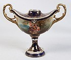 French Sevres Style Porcelain Urn.