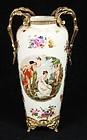 Victorian Porcelain Vase.