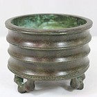 Fine Chinese Bronze Censer.