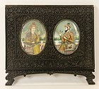 Superb 19th C. Miniature Portrait Paintings.
