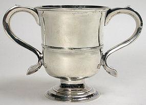 Georgian Newcastle sterling silver cup, John Langlands