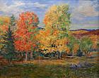 Arthur B. Wilder painting - Vermont autumn