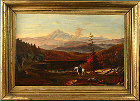 Mount Chocorua, New Hampshire White Mountains painting