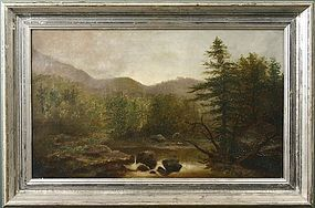 Wesley Elbridge Webber White Mountains painting