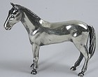S. Kirk and Son sterling silver horse stallion figurine sculpture