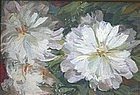 Louis G. Feuchter floral still life oil painting