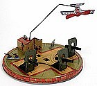 Louis Marx Coast Defense lithographed tin wind-up toy