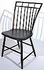 Samuel Gragg, Boston signed bird cage Windsor chair