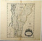 Amos Doolittle's map of Vermont From Actual Survey