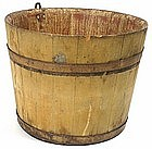 North Family Shaker sap bucket, Enfield, New Hampshire