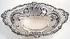 Gorham sterling silver large dessert center basket 1893