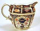 Royal Crown Derby creamer/ milk jug, Imari pattern 1128