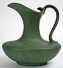 Hampshire Art Pottery ewer/ pitcher, cucumber green