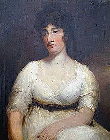 Scottish portrait after Sir Henry Raeburn, Lady Suttie
