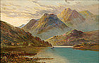 F.E. Jamieson painting of Scottish Loch