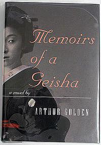 Memoirs of a Geisha, Arthur Golden, signed 1st edition
