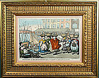 Thomas Rowlandson engraving, Procession of the Cod Co.